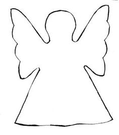 simple standing three d paper angel video how to these would be great