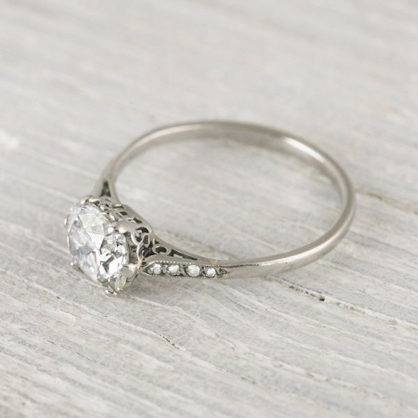 This is the most perfect, idyllic ring I have ever seen. Maybe would work on my