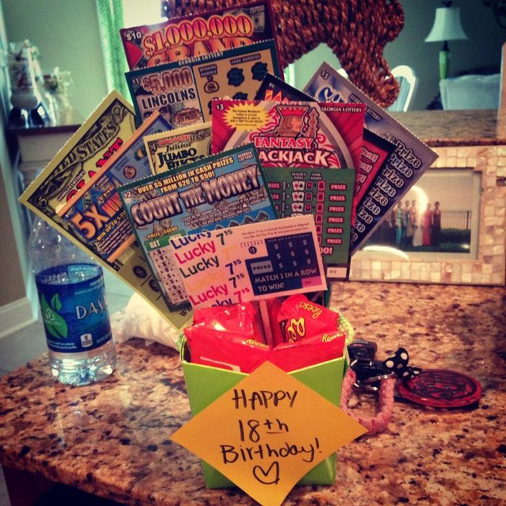 18th birthday gift scratchoffs gifts pinterest