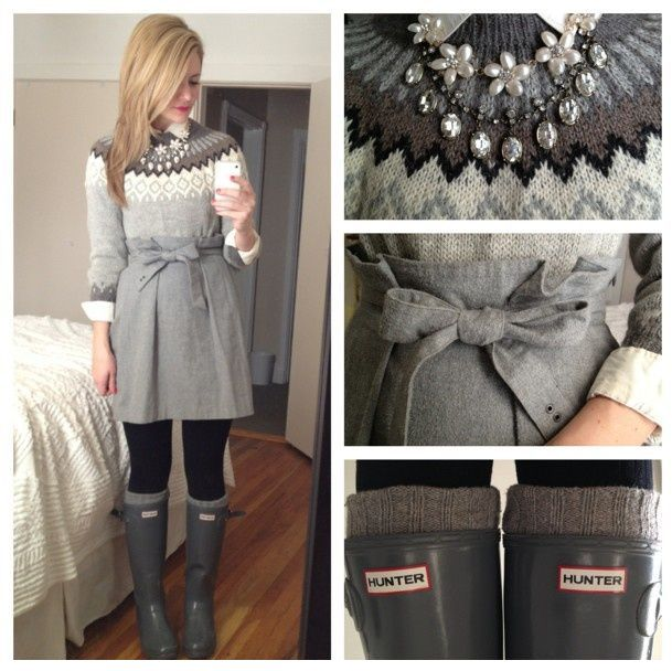 Beautiful winter outfit