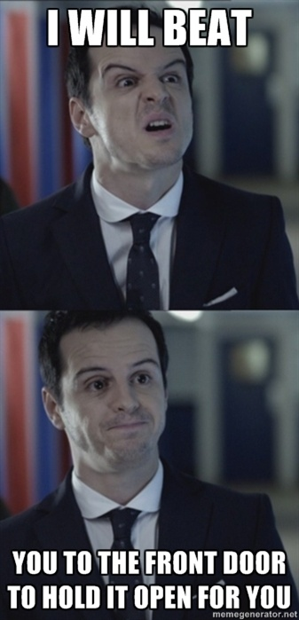 :D MIsleading Moriarty. This fandom needs Season three so bad