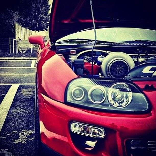 Giant Turbo on a Candy #Supra #JDM