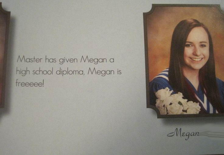 Best yearbook quote. This is perfect.