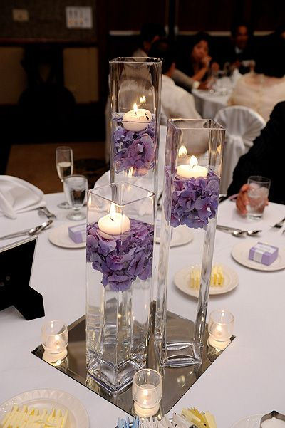 Submerged arrangements like this can be stunning and cost effective. We could do