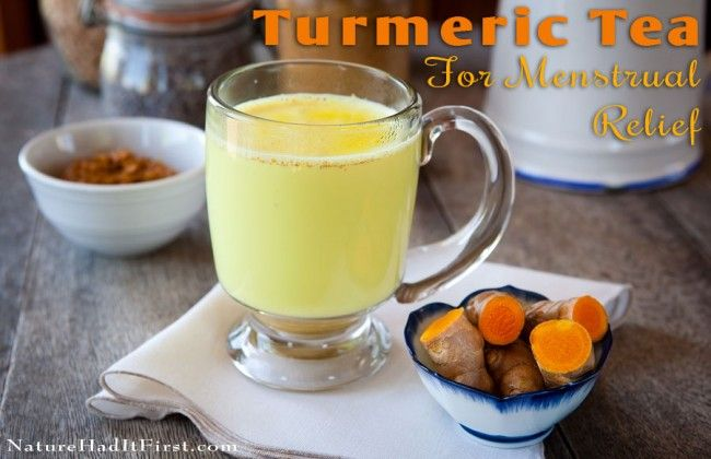 Got Menstrual Cramps and Heavy Bleeding during your period? Tumeric Tea to the r