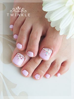 Cute but my feet would not look this good lol