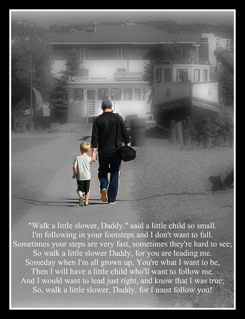 Um, Im in love with this poem and picture. Im thinking a late father's day prese