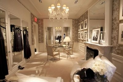 Unbelievable closet- fireplace…really…