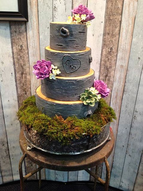 Rustic Wedding Cakes on Craftsy | Flickr – Photo Sharing!