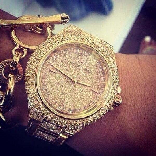 Michael Kors Watch | Juicy Couture Charm Bracelet
