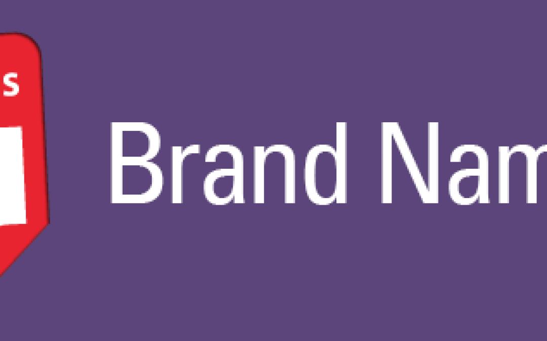 Brand Names that Stick