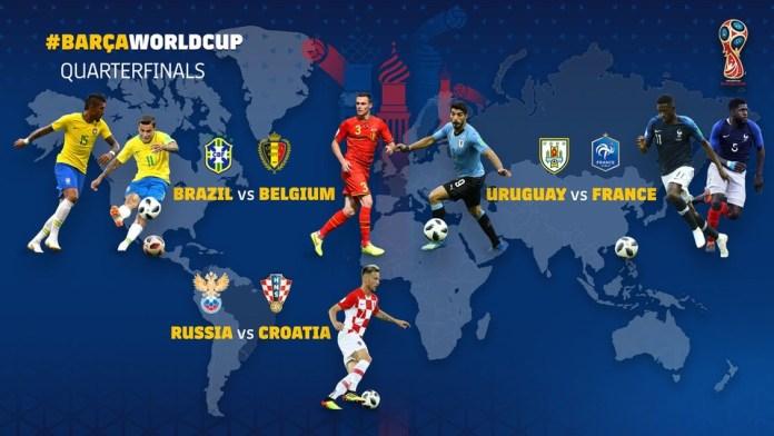 Barcelona en el Mundial