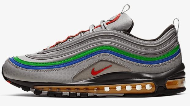 Nike lanza las Air Max 97 inspiradas en Nintendo 64