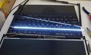 Замена подсветки на ноутбуке