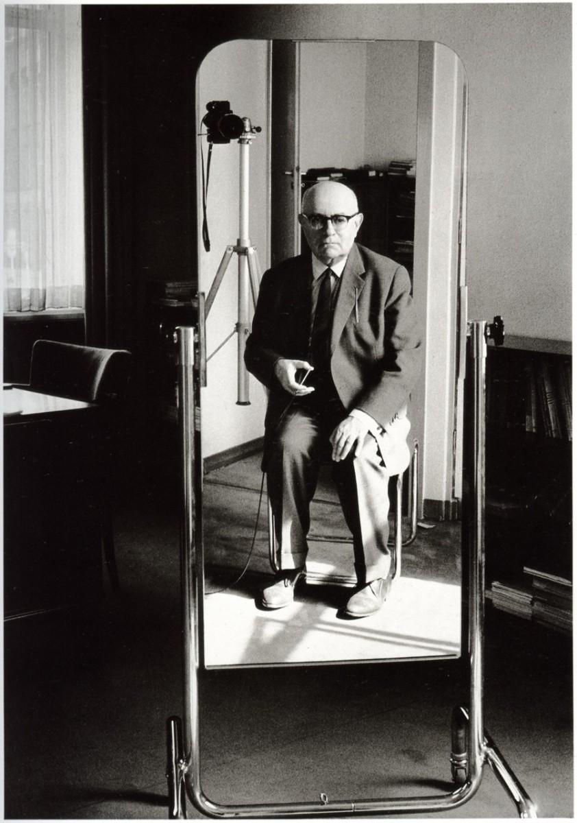 Image result for theodor adorno mirror portrait