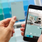 With the ColorSnap Visualizer mobile app, customers can scan the new 2-by-3-inch color chip with their iPhone or Android smart phone for instant access to room scenes featuring that color, options for coordinating colors, and more.