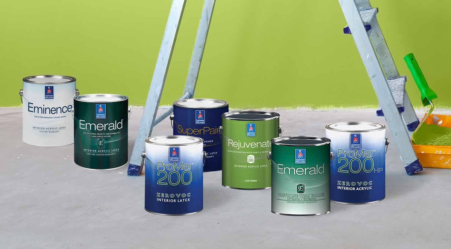 Lineup Of Sherwin Williams High Performance Coatings, Including Zero VOC,  Emerald, Pro