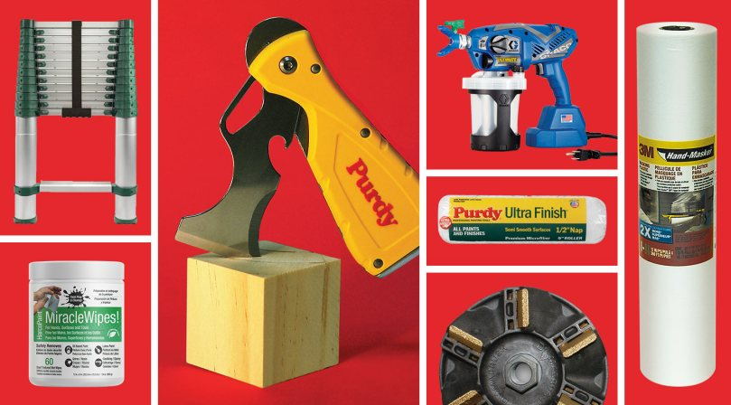 collage of top new painters tools 2017