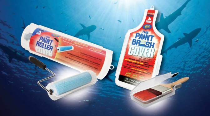 paint brush and roller covers