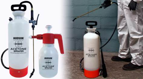 Hudson spray tanks