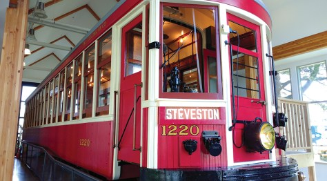 No. 1220 tram car restoration by the City of Richmond