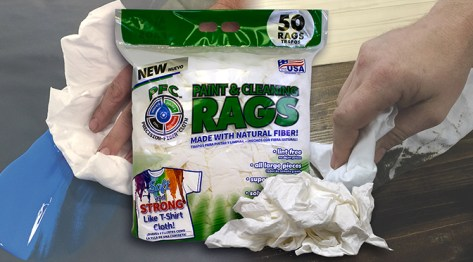 Precision-Fiber® Cloth (PFC®) Paint & Cleaning Rags