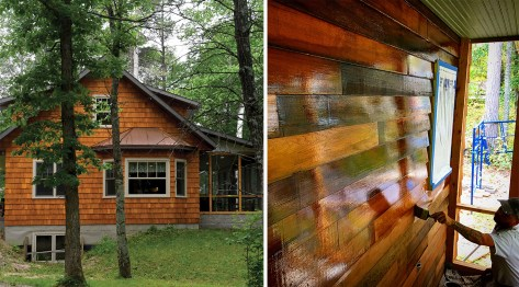 Creating A Lived-In Look for a New Cabin in Minnesota's Northwoods
