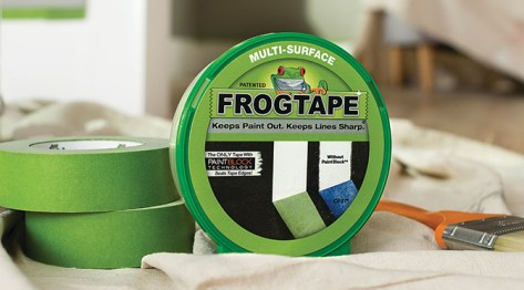 Winter 2018 advertorial image FrogTape® Brand Painter's Tape