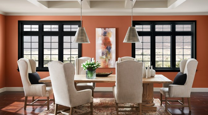 Bring the Warmth Inside with Cavern Clay, the 2019 Color of the Year