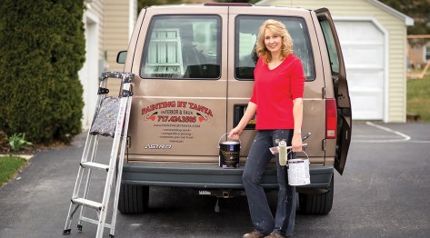 Contractor Q&A: Tanya Leftwich on the Challenges and Rewards of Working in a Male-Dominated Trade