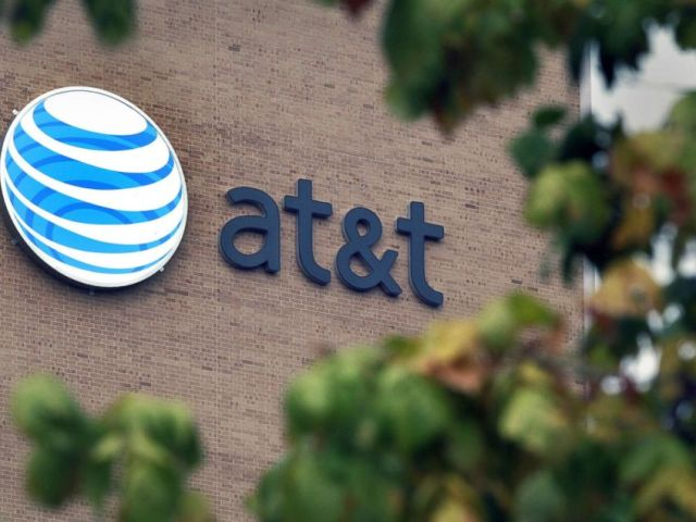 PHOTO: In this file photo, the AT&T logo is seen on the companys headquarters in San Antonio, Texas, Oct. 12, 2006.