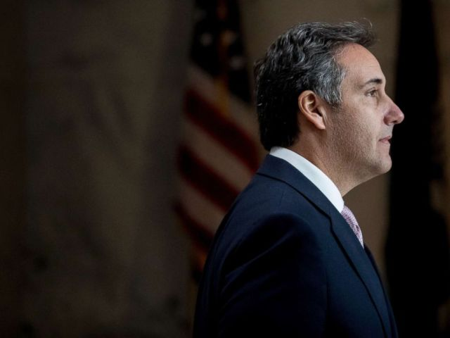 PHOTO: In this Sept. 19, 2017, file photo, President Donald Trumps lawyer Michael Cohen departs following a closed door meeting with the Senate Intelligence Committee on Capitol Hill in Washington.