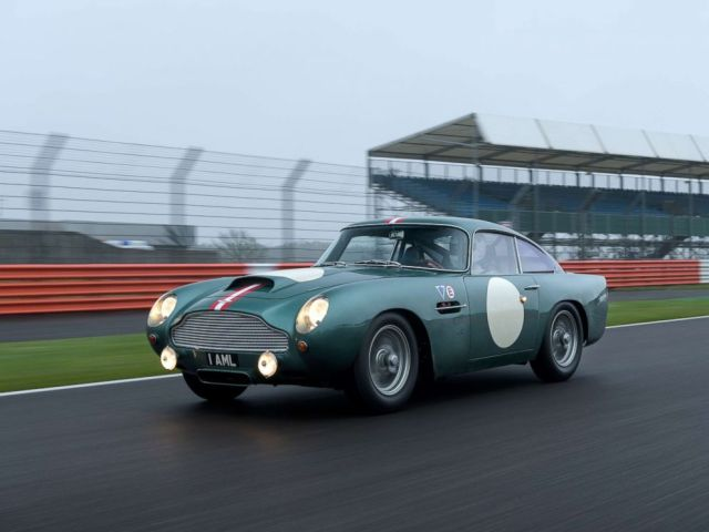PHOTO: Aston Martin is producing 25 exact replicas of the original DB4 GT. Each costs $2.5 million.