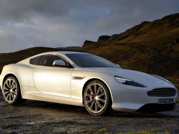 PHOTO: An Aston Martin DB9 sports car is pictured in the United Kingdom on Feb. 14, 2013.