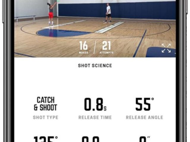 PHOTO: The Home Court Basketball App is pictured here.