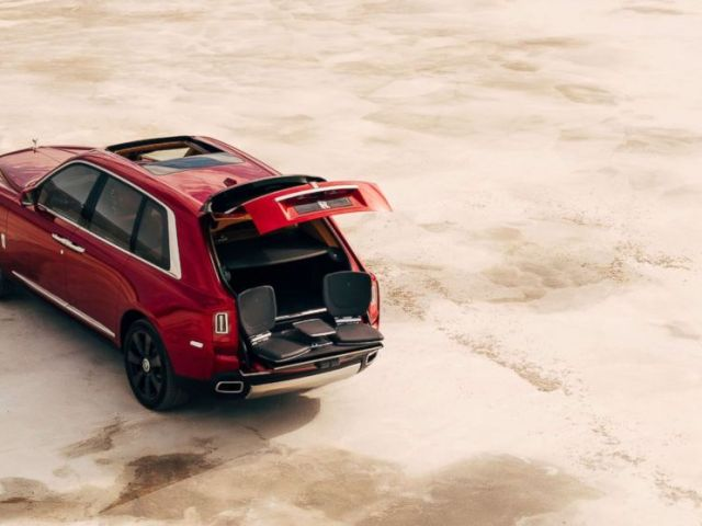 PHOTO: The Rolls-Royce Cullinan SUV is pictured in an undated handout image.