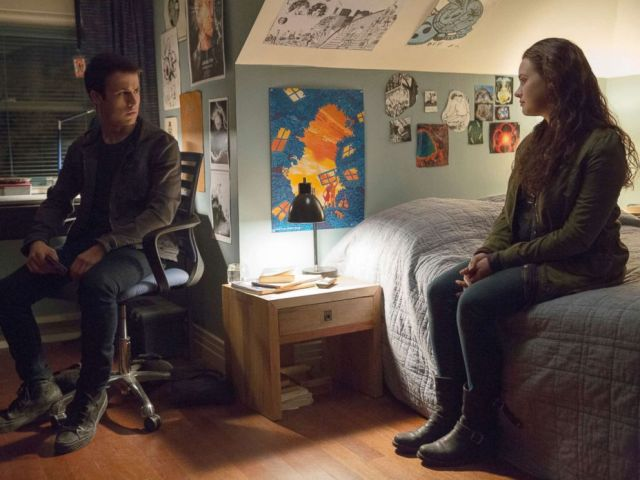 PHOTO: Scene from the Netflix series 13 Reasons Why.