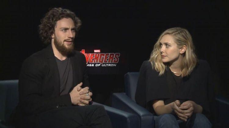 Aaron Taylor-Johnson and Elizabeth Olsen on 'Marvel's ...