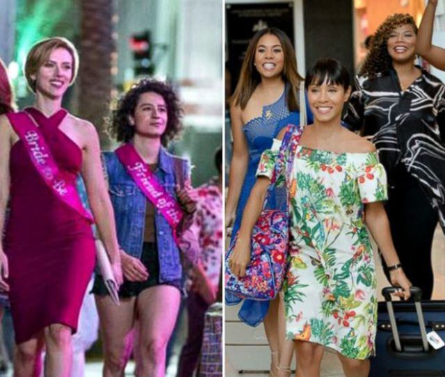 Rough Night Vs Girls Trip Hollywoods Latest Twin Films Have A Clear Winner Abc News