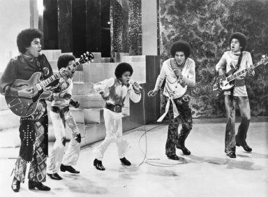 照片:傑克遜5在自己的電視節目中表演,1971年9月19日。