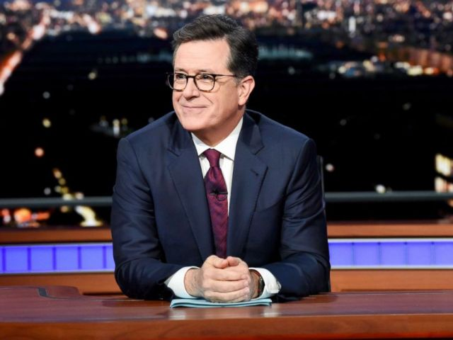 PHOTO: Stephen Colbert on The Late Show with Stephen Colbert, May 22, 2018.