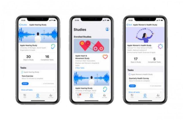 FOTO: Apple ha hecho que participar en estudios de investigación sea muy fácil con su nueva aplicación para Apple Watches que permite a las personas participar de forma remota.