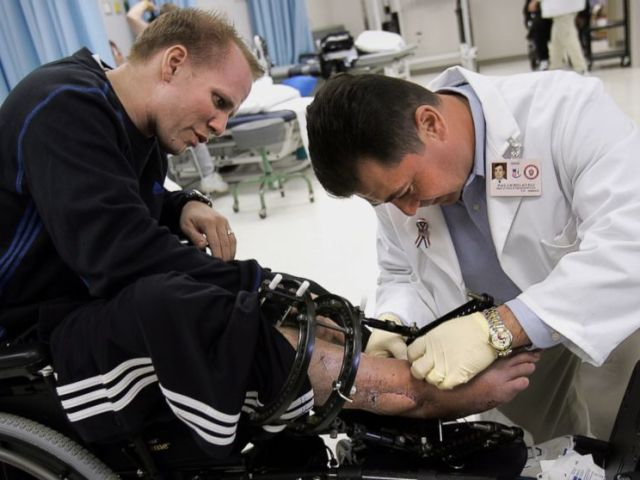 PHOTO: Dan Nevins lost both his legs while serving in Iraq after his army vehicle hit an IED.