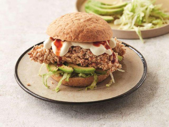PHOTO: Gordon Ramsays Californian fried chicken sandwich.