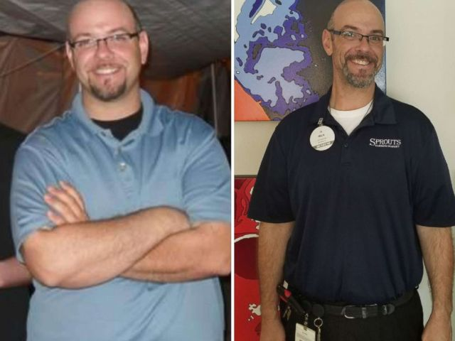 PHOTO: Chris Martinez, Nick Glidden, Ana Lewis, Farley Hayes and Micha Govella from Sprouts Farmers Market in Katy, Texas, have lost a combined more than 200 pounds.