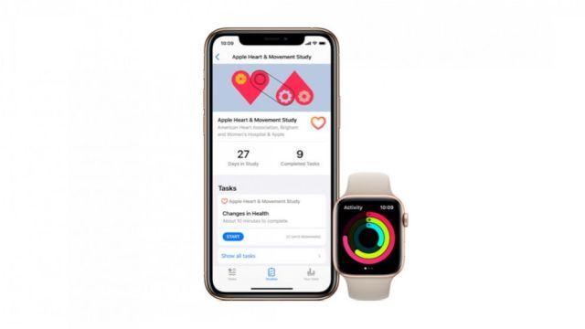 FOTO: Una nueva aplicación de Apple permitirá a las personas participar en estudios de salud como aquellos basados en su corazón mediante el uso de sus relojes Apple.