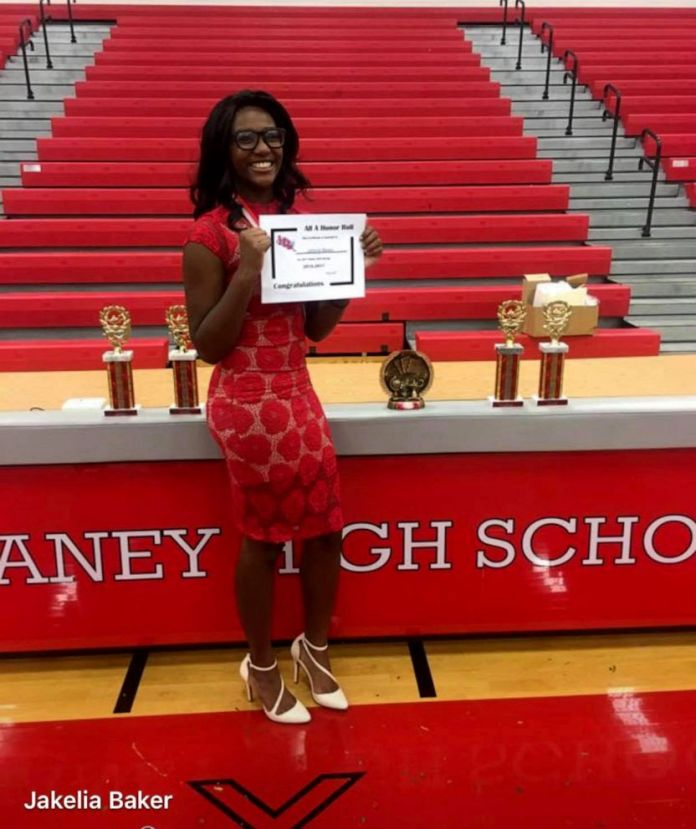 Jakelia Baker, 17, was accepted to over 50 colleges and awarded approximately $1.3 million total in scholarship money.