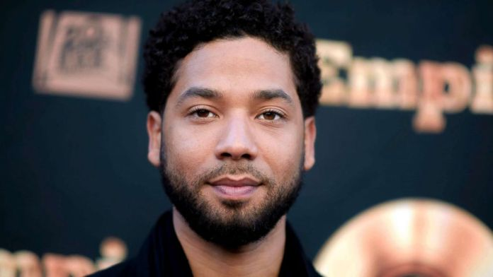 "Jussie Smollett attends an ""Empire"" event in Los Angeles, May 20, 2016."