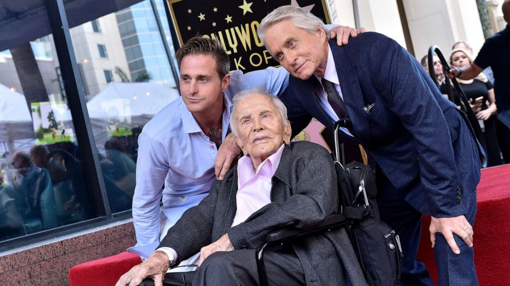 Michael Douglas Wishes Father Kirk Happy 103rd Birthday You Are A Living Legend ABC News