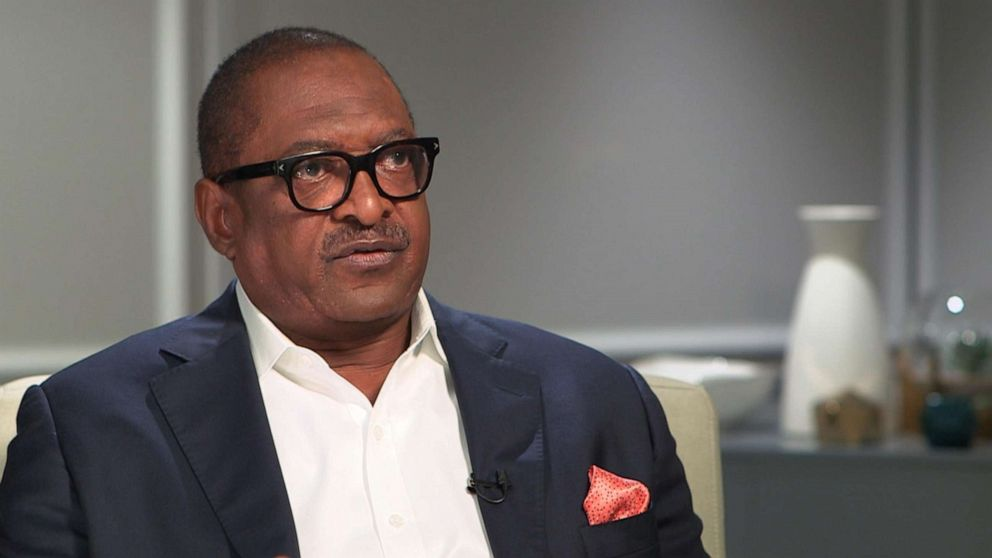 Beyonce's father, Mathew Knowles, talks about being diagnosed with breast cancer